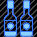 wine bottle, beer, alcohol, drink, beverage, bottle