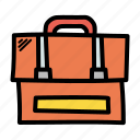 briefcase, business, office, travel icon