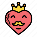 crown, emperor, father, king icon