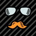 avatar, father, glasses, specs