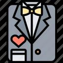 tuxedo, suit, man, cloth, formal