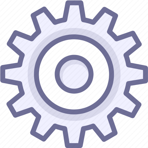 configuration, gear, options, parameter, setting icon