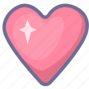 favorites, heart, like, love icon