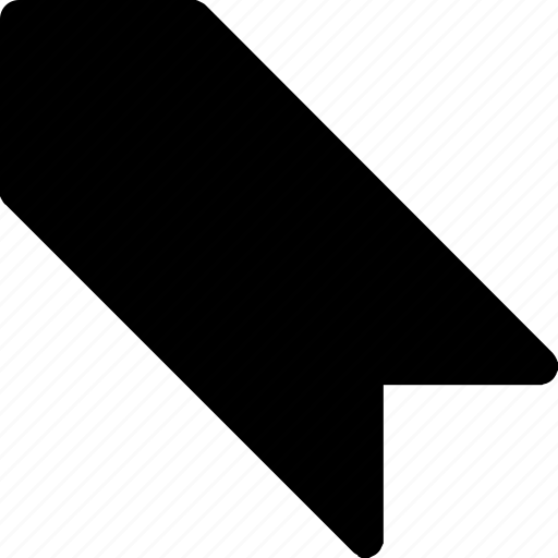 arrow, favorite, left, mark, navigation, saved, star icon