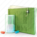 document, documents, file, folder, glass, matrix, pill icon