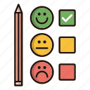 customer, emoji, feedback, satisfaction, survey