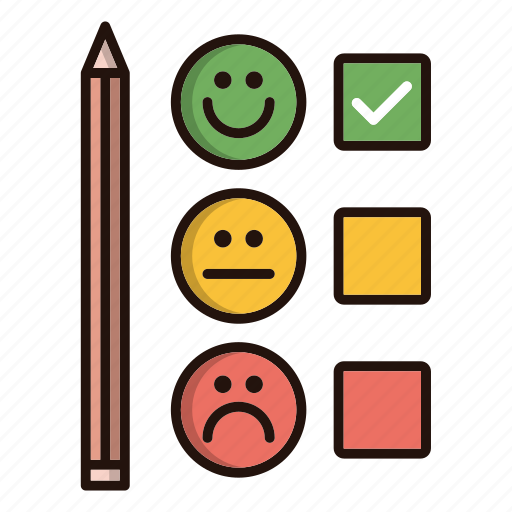 customer, emoji, feedback, satisfaction, survey icon