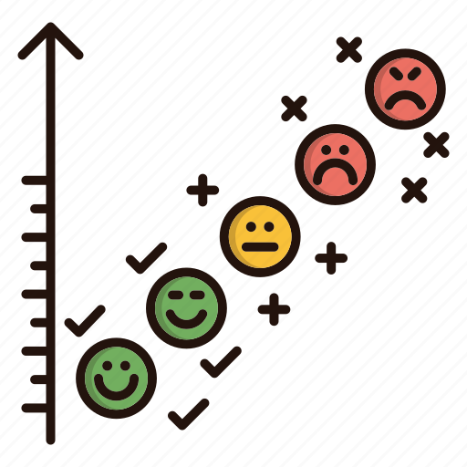 Chart, contact us, emoji, faces, feedback icon - Download on Iconfinder