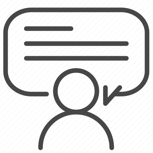 chat, comment, feedback, reviews, speech, talk, testimonial icon