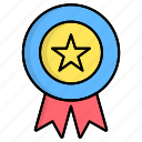 award, badge, best, medal, rated, top, top rated icon