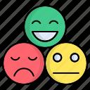 emoji, feedback, review icon