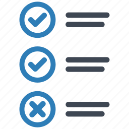 checklist, questionnaire, test icon
