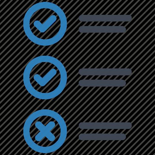 Checklist, questionnaire, test icon - Download on Iconfinder