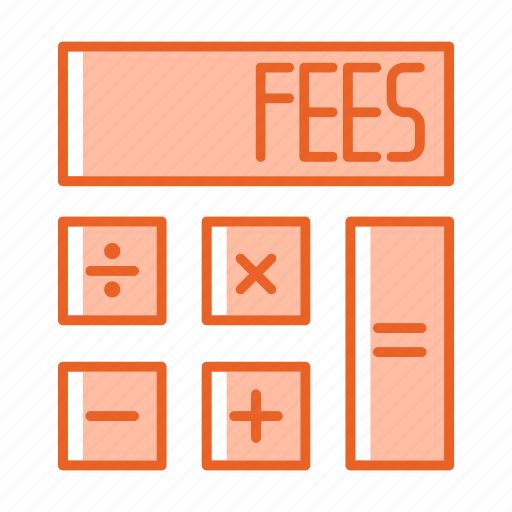 accounting, calculator, fees, math, payment icon