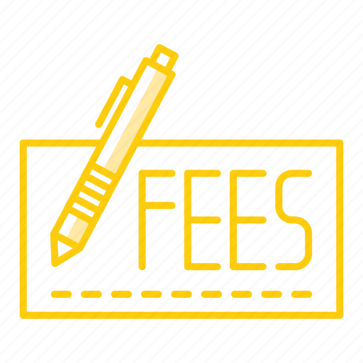 cash, cheque, fees, money, payment icon