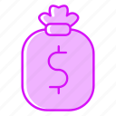 cash, fees, money, payment icon