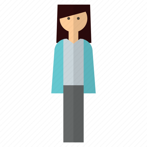avatar, female, people, woman icon