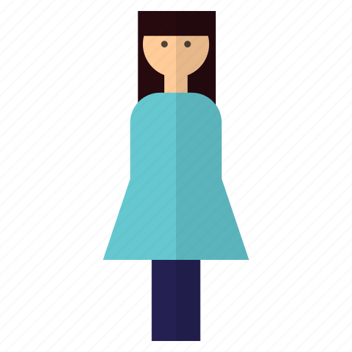 Lady, person, user, woman icon - Download on Iconfinder