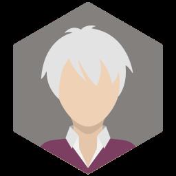 avatar, female, lady, portrait, profile, silver, woman icon