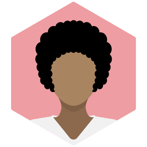 afro, avatar, female, portrait, profile, sexy, woman icon