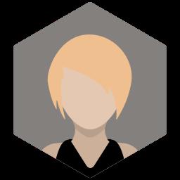 avatar, blonde, female, portrait, profile, sexy, woman icon