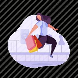shopping, e, commerce, spree, shop, bag, discount, woman