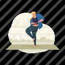 sports, woman, sport, fitness, yoga