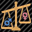 inequality, injustice, prejudice, unequal, discrimination, equal, equality icon