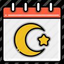 eid, al, adha, festival, ramadan icon