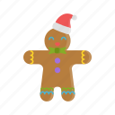 christmas, cookie, gingerbread, gingerbread man, xmas
