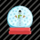 christmas, holidays, icon, snow, snowball, snowman, winter, xmas icon