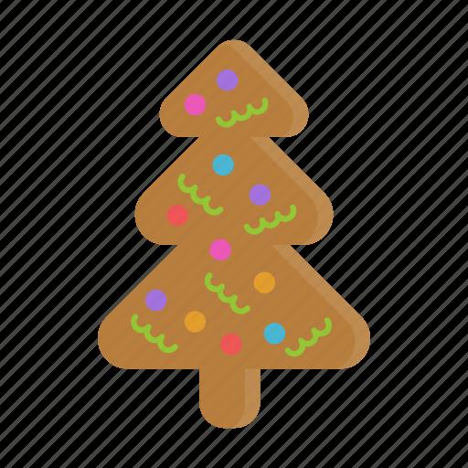 Gingerbread Christmas Tree.Festive Christmas By Ideastoria Creatives