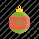 christmas, christmas ball, decoration, holiday, icon, xmas icon
