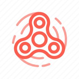 fast, rotation, spining, spinner, toy, widget icon