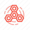 fidget, spinner, spinning, toy icon