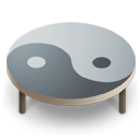 Table Ying Yang Icon Icon Search Engine