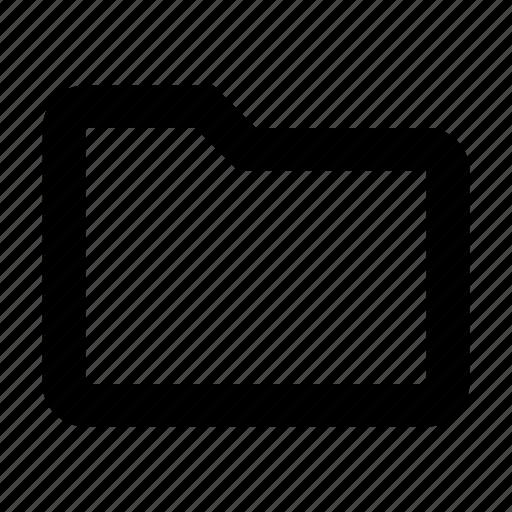 directory, file, folder, open icon