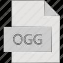 file, forma, ogg, xiph icon