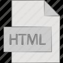 html, hypertext, language, markup icon