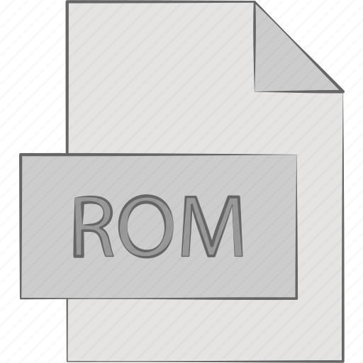 memory, only, read, rom icon