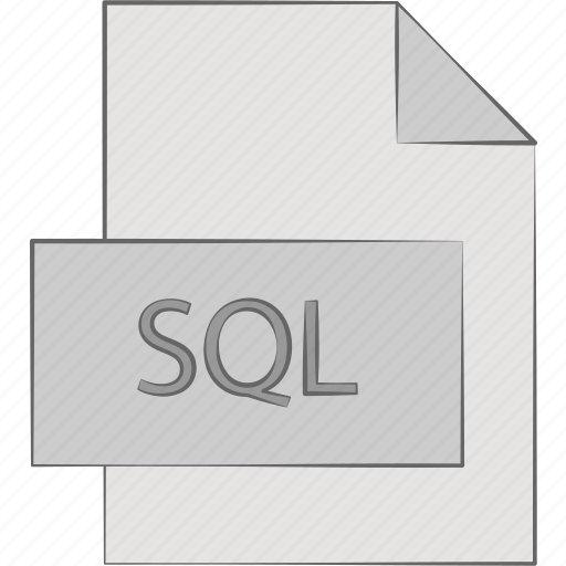 extension, query, sql, structured icon