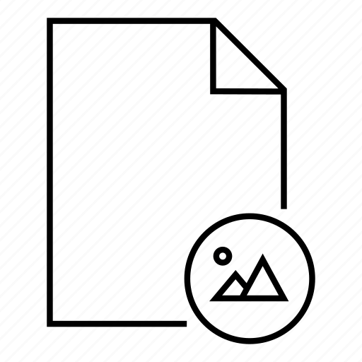 document, file, file picture, fomat, image file drawing file icon