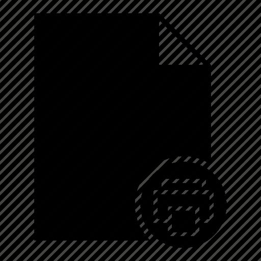 document, file printing, online document, print, print document, printer icon