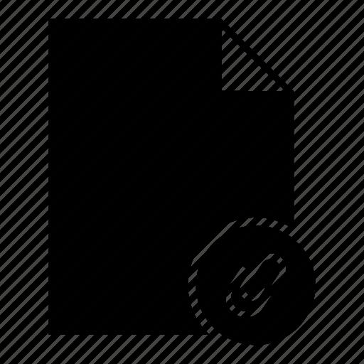 attachment, attachment document, attachment file, clip, document, file icon