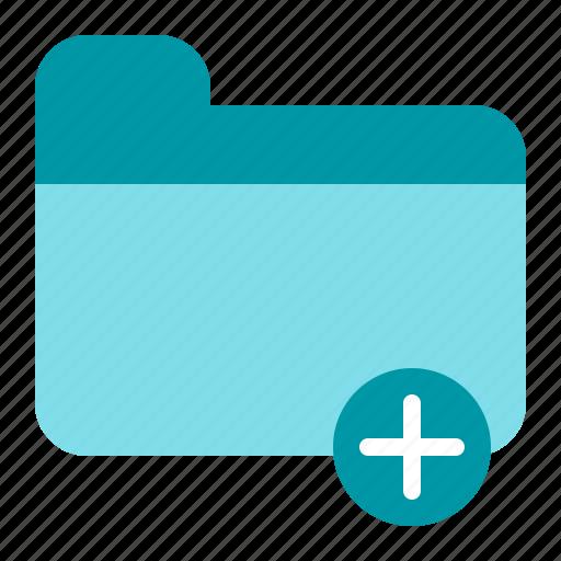 add, add folder, document, file icon