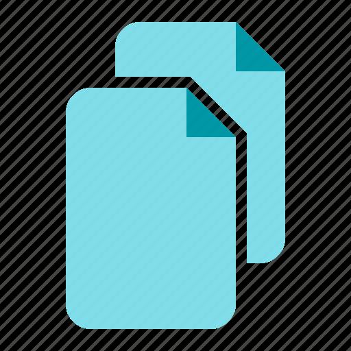 add, copy, documents, files icon