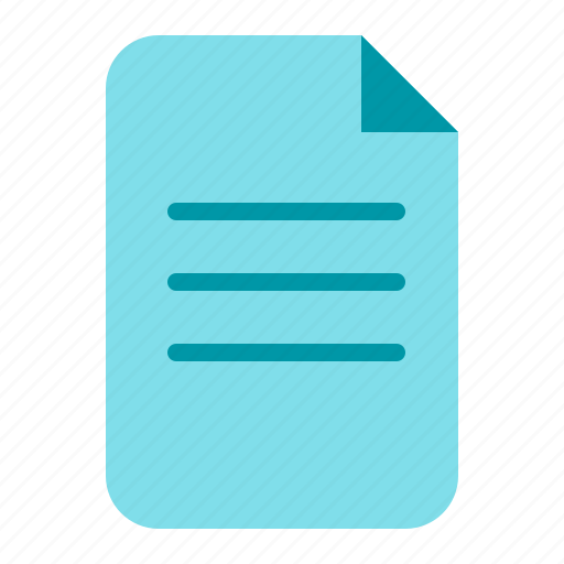 document, file, pdf, text, word icon