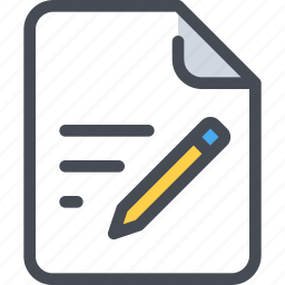 content, document, education, file, paper icon
