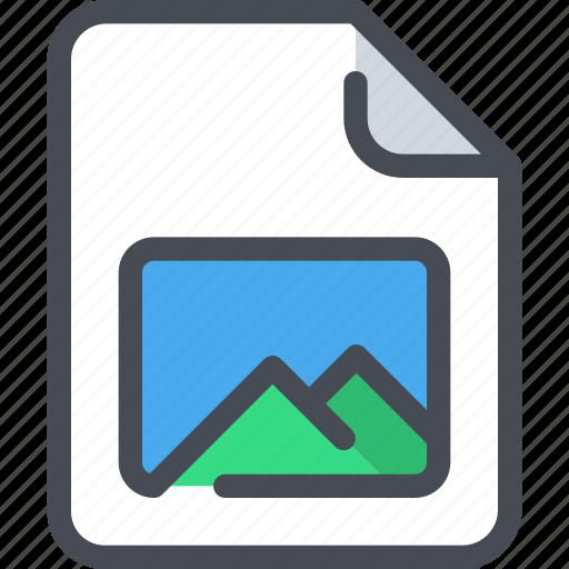 document, file, media, paper, photo icon