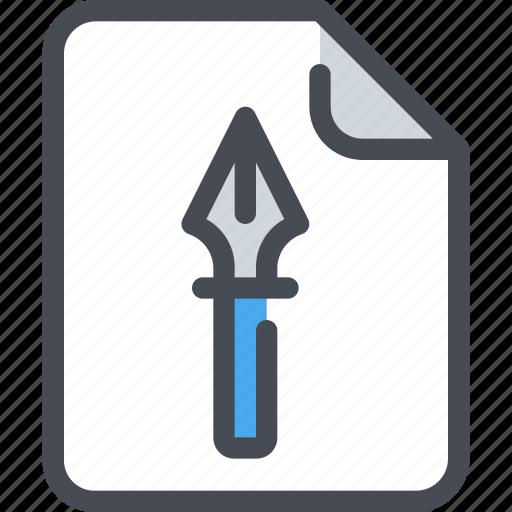art, design, document, file, paper icon